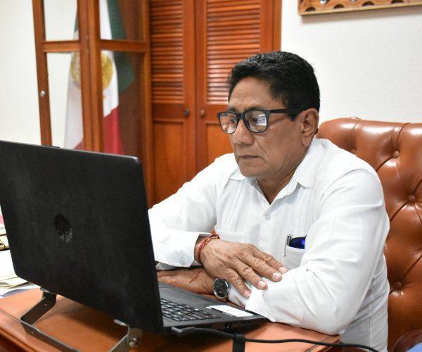COMITÉ DE SALUD EN OTHÓN P. BLANCO TOMA ACUERDOS PARA EVITAR REBROTES POR COVID-19
