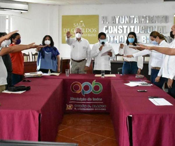 INSTALACIÓN DEL COMITÉ DE EVALUACIÓN Y SEGUIMIENTO ENTRE EL H. AYUNTAMIENTO DE OPB Y EL INSUS