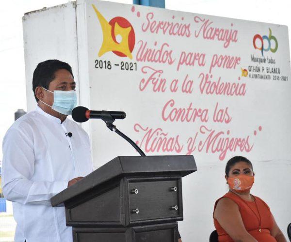 ENCABEZA EDIL LA INAUGURACIÓN DEL PROGRAMA SERVICIOS NARANJA